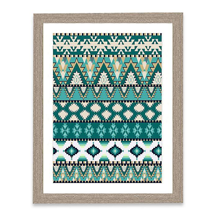 Alternate image 1 for Tapestry Pattern II Framed Art Print
