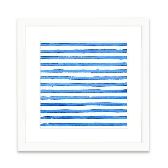 Alternate image 1 for The Framed Giclée Blue Pattern Print Wall Art
