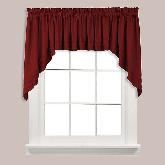 Buy Holden Swag Valance In Garnet From Bed Bath & Beyond