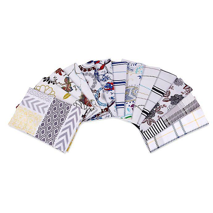 Alternate image 1 for Tribeca Living 170 GSM Print Flannel Deep Pocket Sheet Set