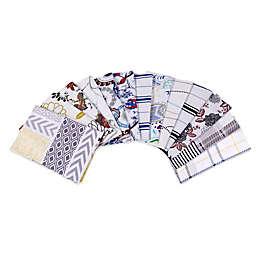 Tribeca Living 170 GSM Print Flannel Deep Pocket Sheet Set