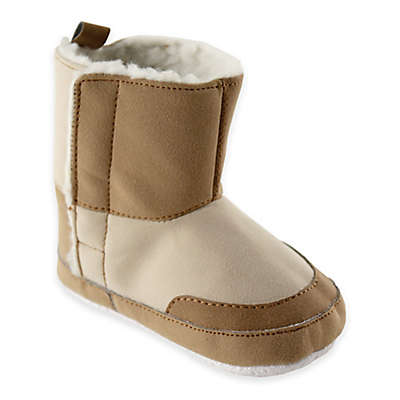 Baby Vision® Luvable Friends® Faux Suede Boots in Tan