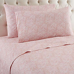 Micro Flannel® Enchantment Rose Full Sheet Set