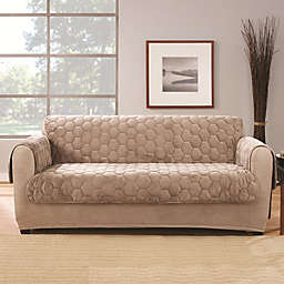 Sure Fit® Silky Touch Loveseat Protector