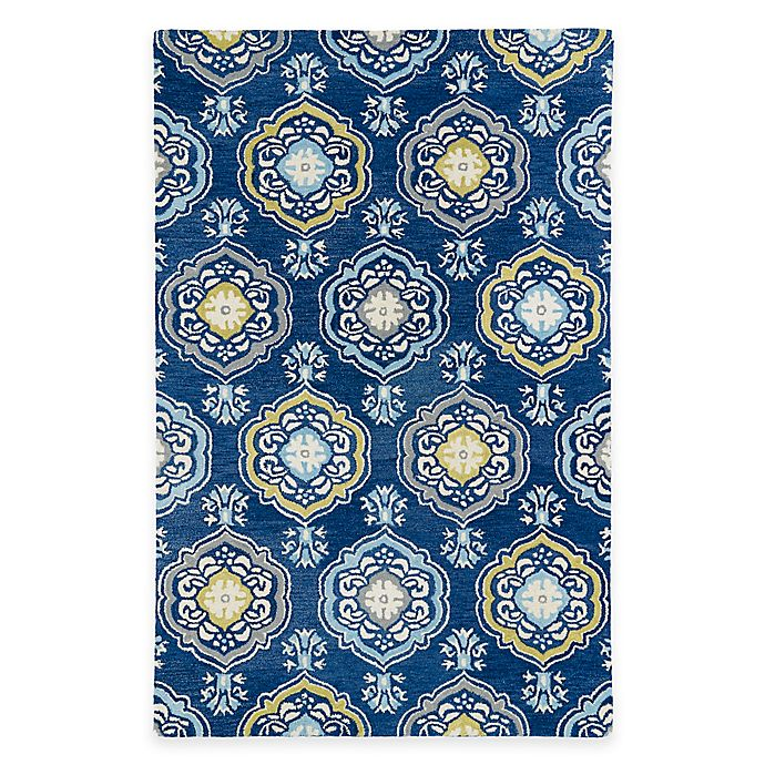Kaleen Helena Rug Turq: Kaleen Helena Collection Damali Rug
