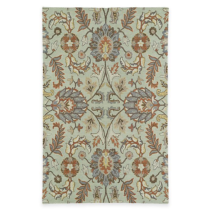 Kaleen Helena Rug Turq: Kaleen Helena Collection Kyra Rug