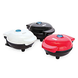 Dash™ Mini Maker 3-Piece Griddle, Waffle, and Grill Set in Red/Black/White