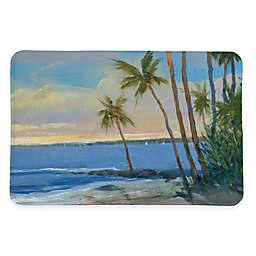 Laural Home® 20-Inch x 30-Inch Tropical Breeze Memory Foam Rug