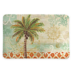 """Laural Home® 20"""" x 30"""" Spice Palm Memory Foam Rug"""