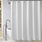 Wamsutta® Diamond Matelassé 72-Inch x 72-Inch Shower Curtain in White
