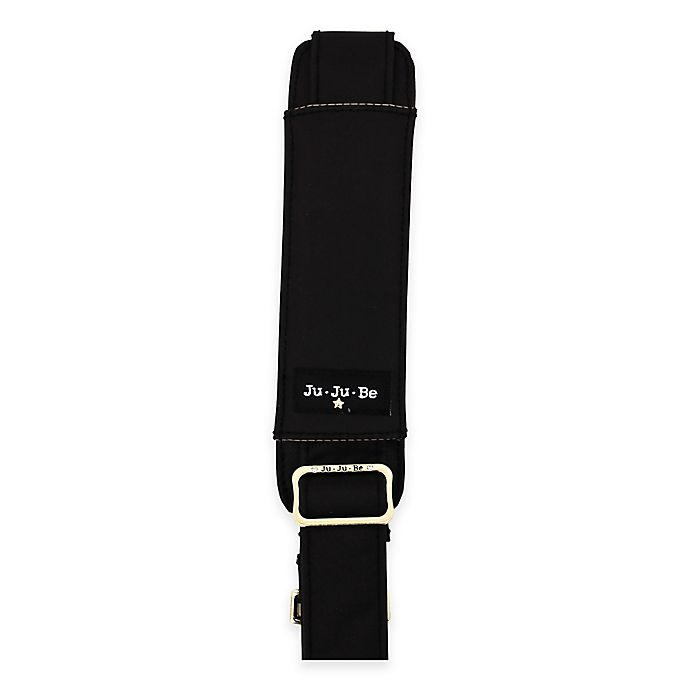 Alternate image 1 for Ju-Ju-Be® Legacy Messenger Strap The Monarch in Black