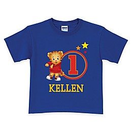 Daniel Tiger's Neighborhood Age T-Shirt in Royal Blue