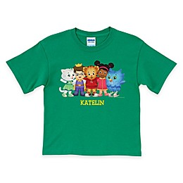Daniel Tiger's Neighborhood Group T-Shirt in Green