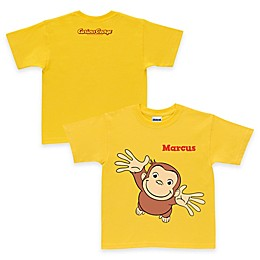 Curious George Pick Me Up Tee in Yellow