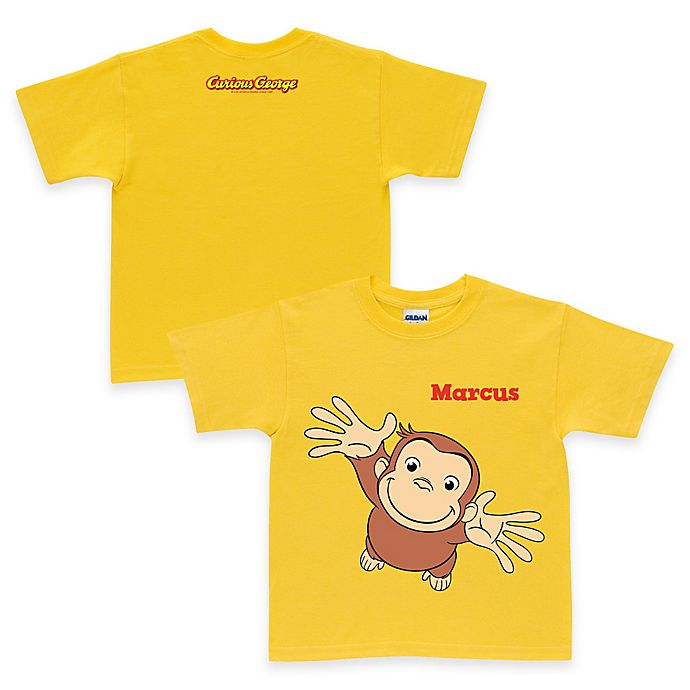 Alternate image 1 for Curious George Pick Me Up T-Shirt in Yellow