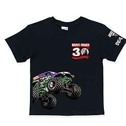 Monster Jam® Grave Digger's® 30th Anniversary T-Shirt in Black