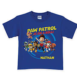 """Nickelodeon™ """"PAW Patrol is on a Roll!"""" T-Shirt in Royal Blue"""