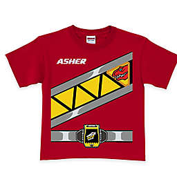 Power Rangers Dino Charge Red Ranger T-Shirt in Red