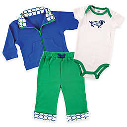 Baby Vision® Yoga Sprout Jacket, Pant, and Dog Bodysuit Sets