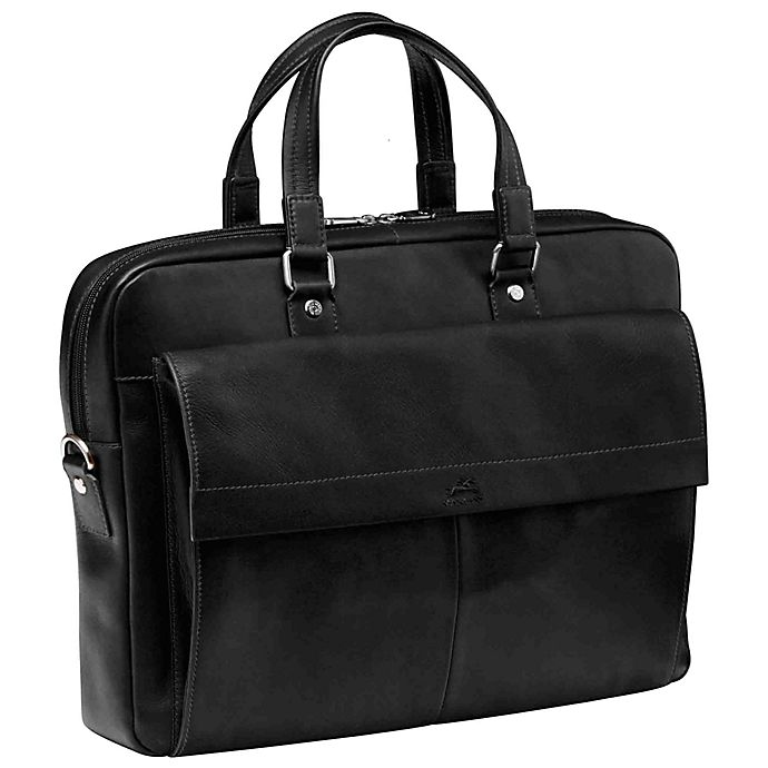 Alternate image 1 for Mancini® Colombian 16.25-Inch Dual Section Laptop Briefcase