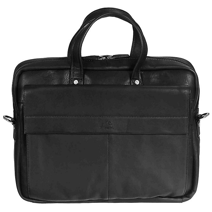 Alternate image 1 for Mancini® Colombian 16.25-Inch Single Section Laptop Briefcase