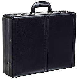 Mancini 17.75-Inch Business Expandable Attaché Case