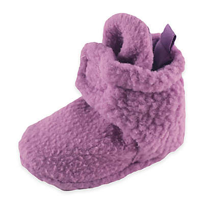 BabyVision® Luvable Friends™ Scooties Fleece Booties in Lilac