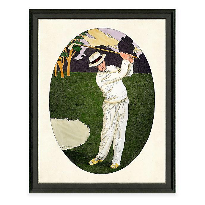 Alternate image 1 for Framed Giclee Tennis Man Print Wall Art