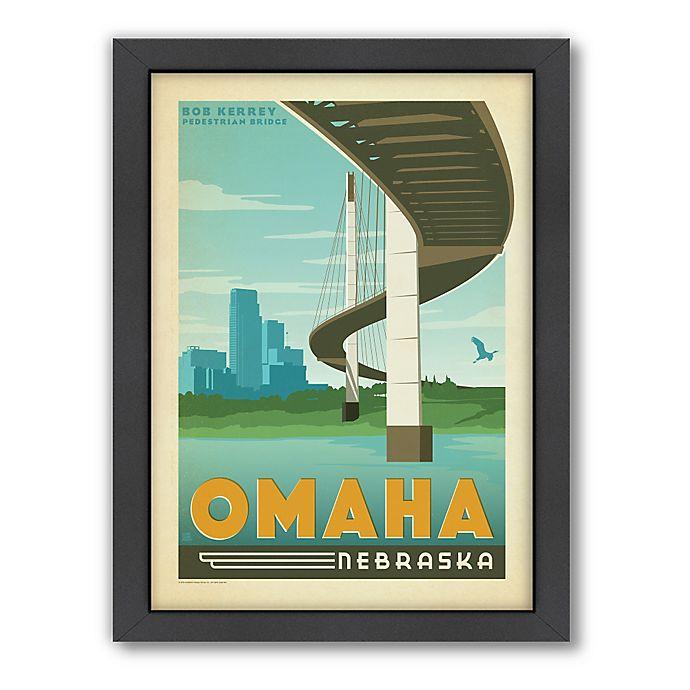 Alternate image 1 for Art & Soul of America™ Omaha Framed Wall Art by Anderson Design Group
