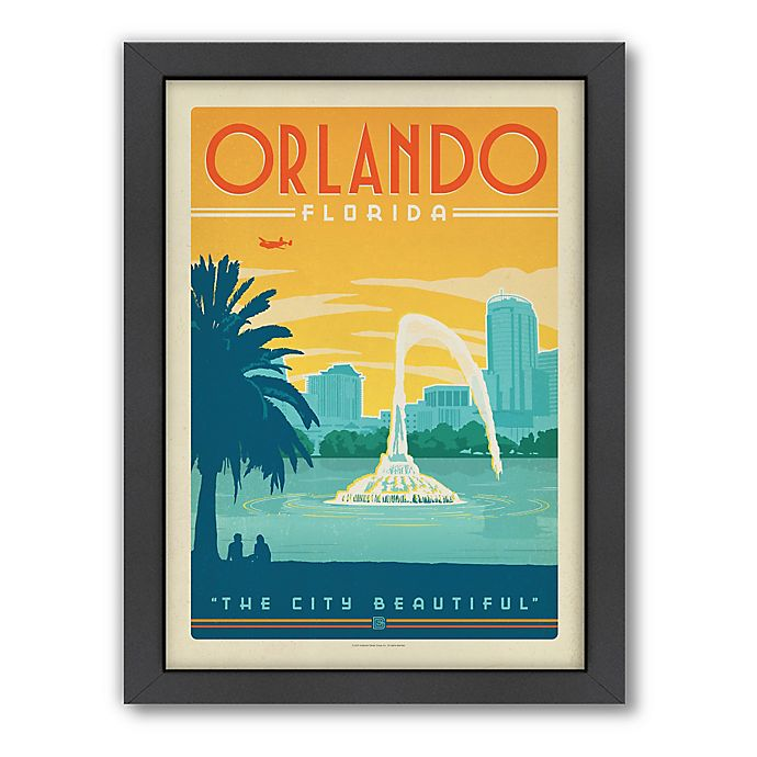 Alternate image 1 for Art & Soul of America™ Orlando Framed Wall Art by Anderson Design Group