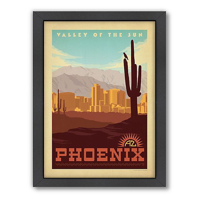 Alternate image 1 for Art & Soul of America™ Phoenix Framed Wall Art by Anderson Design Group