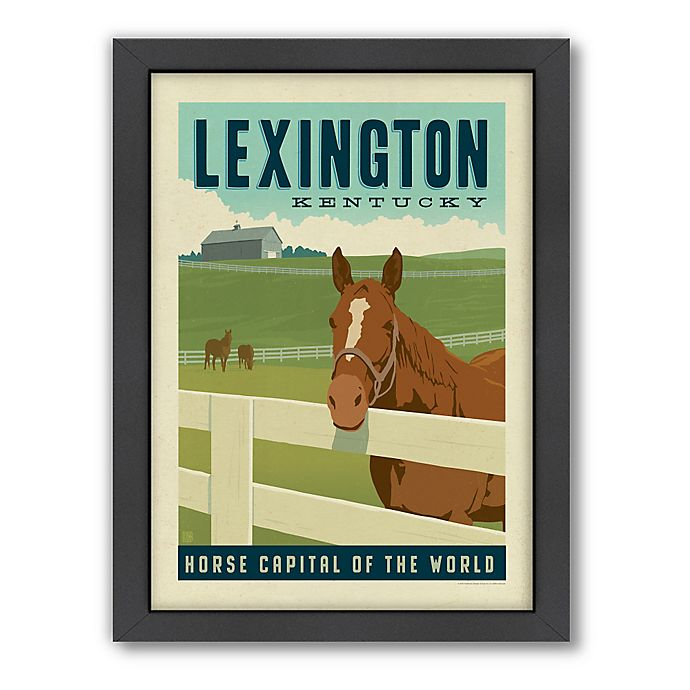 Alternate image 1 for Art & Soul of America™ Lexington, KY Framed Wall Art by Anderson Design Group
