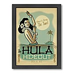 Hula Hideout  Framed Wall Art by Anderson Design Group