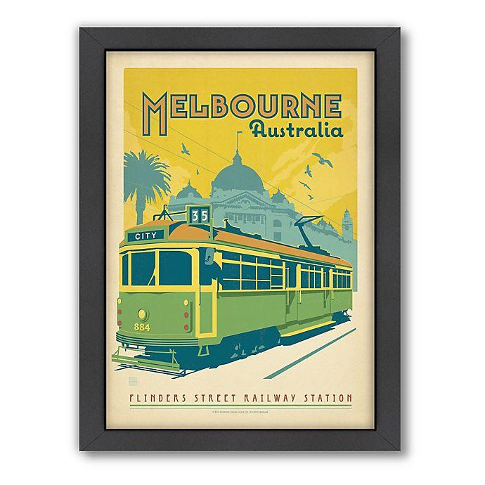 Alternate image 1 for World Travel Melbourne Framed Wall Art by Anderson Design Group