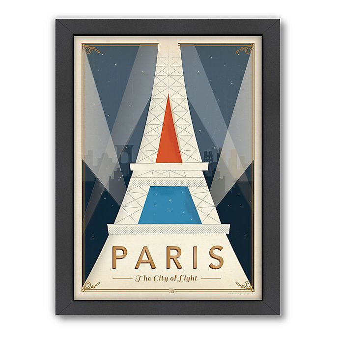 Alternate image 1 for World Travel Paris Mod Framed Wall Art by Anderson Design Group