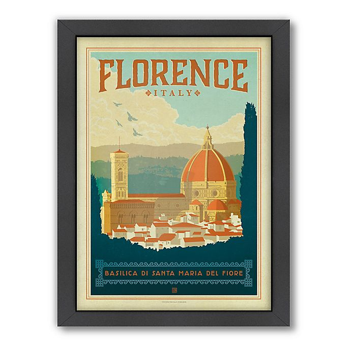 Alternate image 1 for World Travel Florence Framed Wall Art by Anderson Design Group
