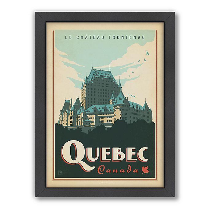 Alternate image 1 for World Travel Quebec Framed Wall Art by Anderson Design Group