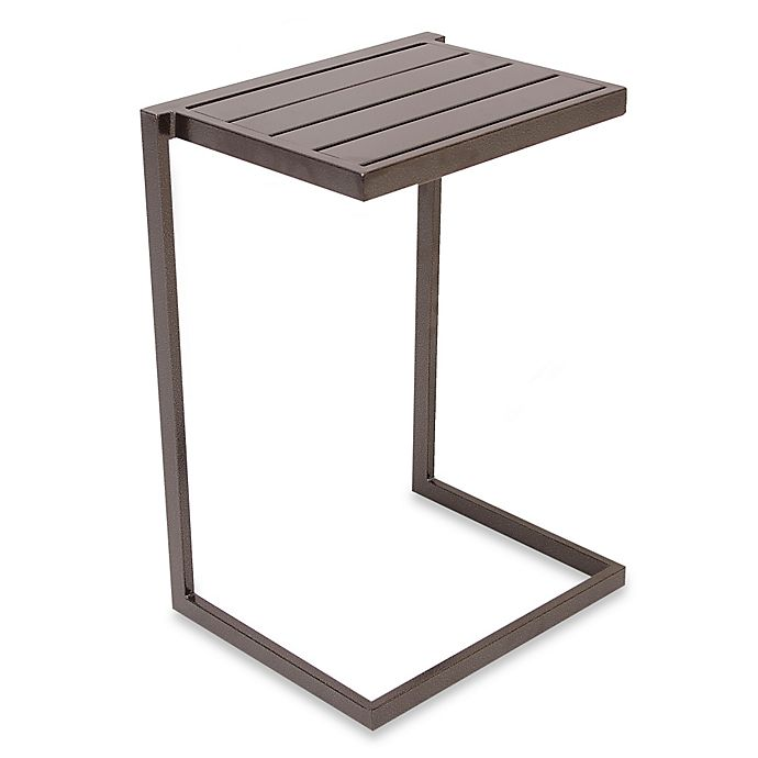 Nesting Snack Tables ~ Nesting slat top snack table bed bath beyond