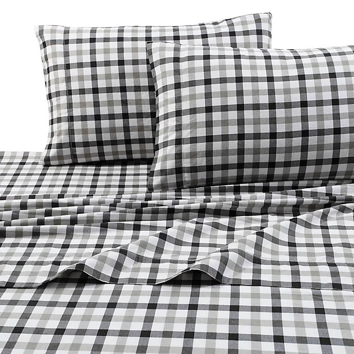 Alternate image 1 for Print 200 GSM Deep-Pocket Flannel Sheet Set