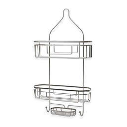 .ORG Extra Wide and Extra Long Shower Caddy in Satin