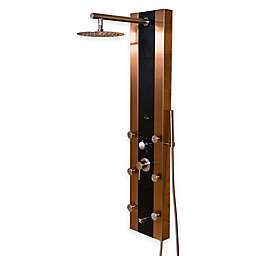 Pulse Rio Shower Spa in Brushed Bronze