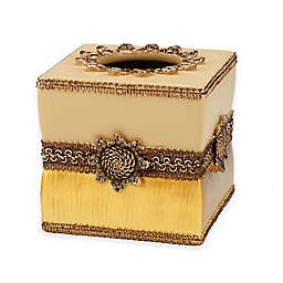 Avanti Braided Medallion Boutique Tissue Box Cover
