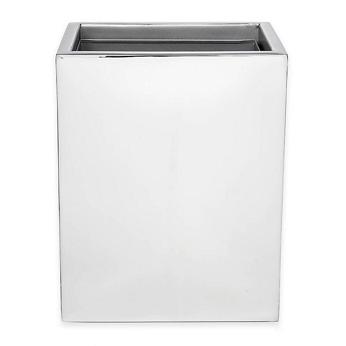 Roi Trading Modern Bath Wastebasket, Modern Bathroom Wastebasket