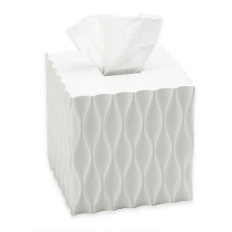 Roselli Trading Wave Tissue Box Cover Bed Bath Beyond