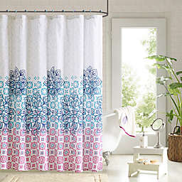 Jessica Shower Curtain and Hook Set