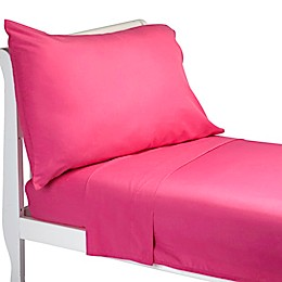 Everything Kids by Nojo® 3-Piece Toddler Sheet Set in Dark Pink