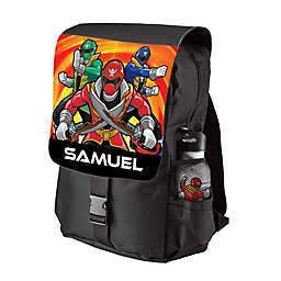 Power Rangers Let s Go Legendary Youth Backpack in Black 2ad9582517ab0