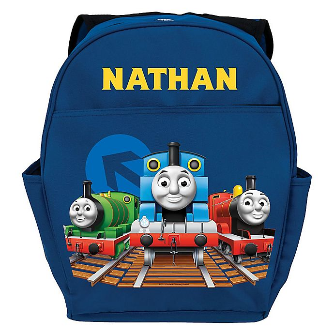 Alternate image 1 for Thomas & Friends All Aboard Youth Backpack in Blue