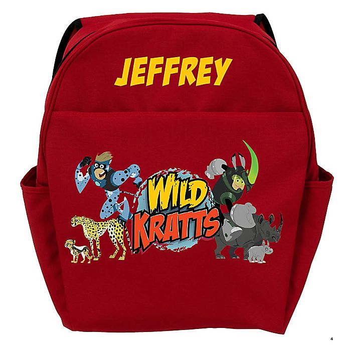 Alternate image 1 for Wild Kratts™ Creature Adventure Youth Backpack in Red
