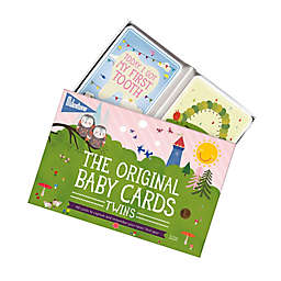 Milestone™ Baby Cards For Twins